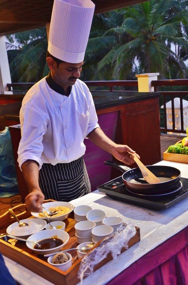 Indian Cooking Lessons at Turtle on the Beach Hotel