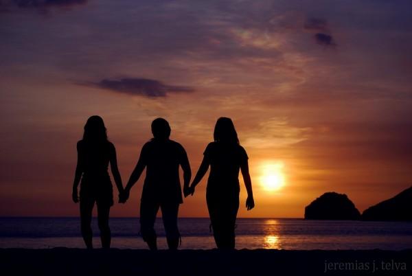 Sunset in Anawangin Cove Zambales