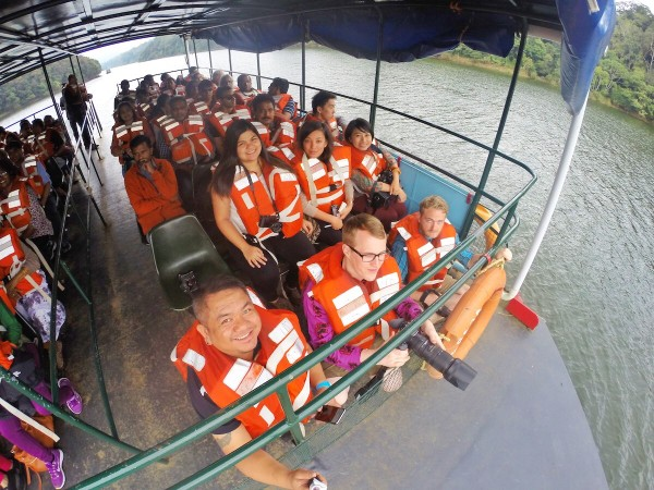 Boat Cruise at the Periyar National Park and Wildlife Sanctuary