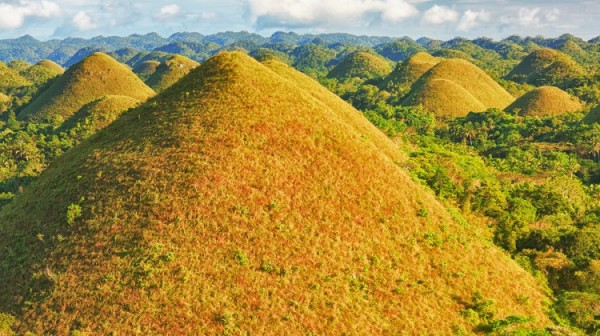 Chocolate Hills in Bohol