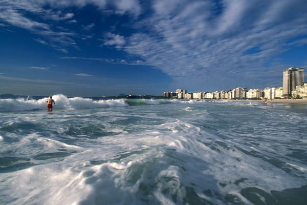 Copacabana Beach photo by Wikipedia