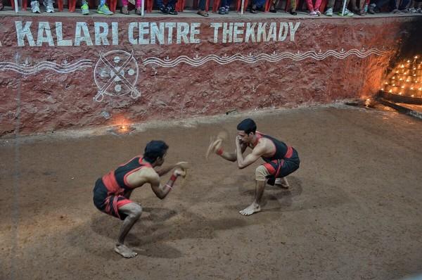 Kalari Performers in Kerala Kalari Centre