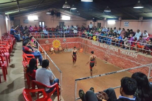 Kerala Kalari Centre in Thekkady