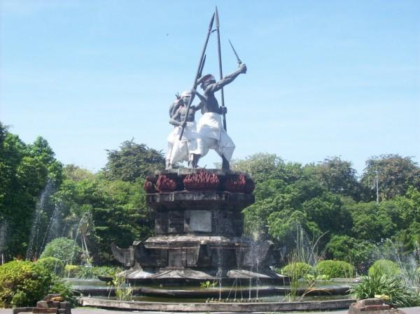 Monument in Taman Puputan