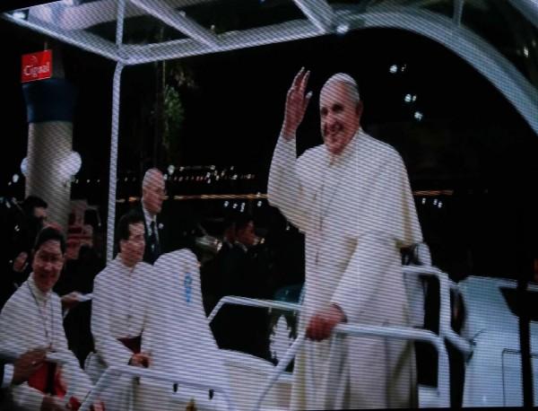 Pope Francis with Cardinal Luis Antonio Tagle
