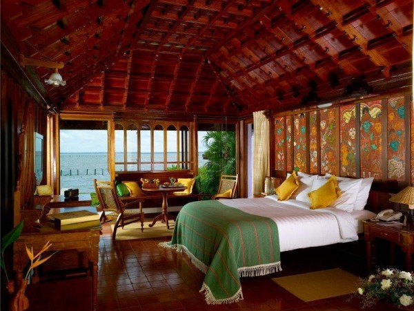 Room with a beautiful view of the backwaters