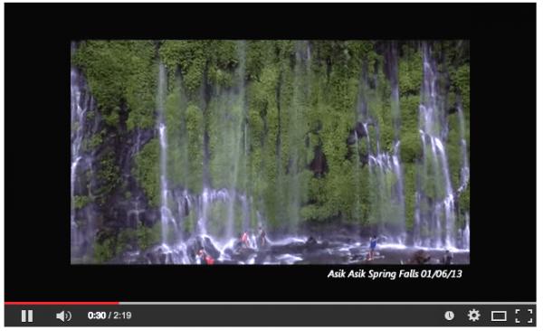 Asik-asik Falls in Alamada North Cotabato