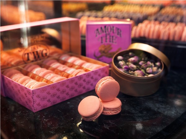 TWG Tea infused Amour de The Macarons