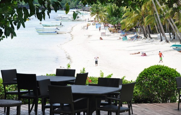 Alona Beach in Panglao Island Bohol