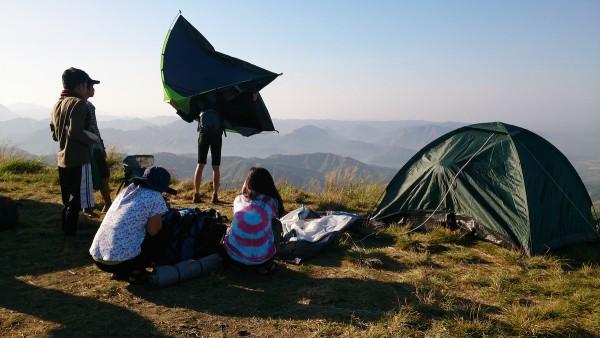 Camping in Mt Balabag