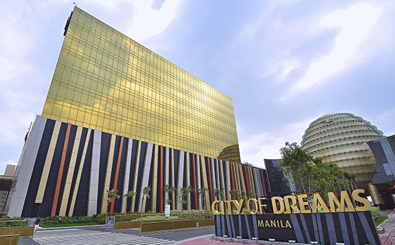 City of Dreams Facade