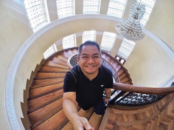 Melo Villareal inside Pangasinan Capitol