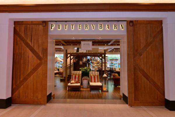 Pottery Barn in Bonifacio High Street