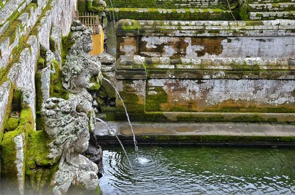 Bathing temple