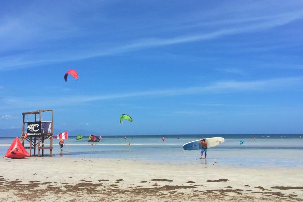 Beautiful Kitesurfing Spot in Palawan