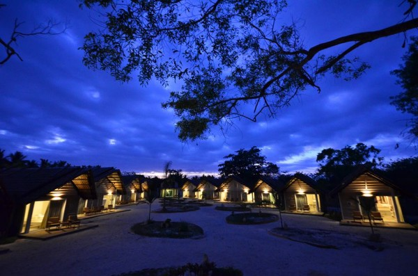 Blue Hour at Blue Palawan Beach Resort