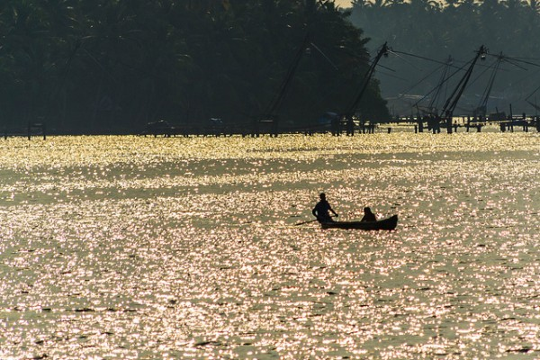 Fishing in Kerala by Thangaraj Kumaravel via Flickr
