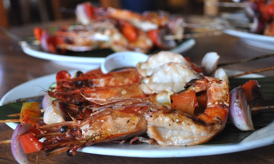 Grilled Food in Dumaguete City