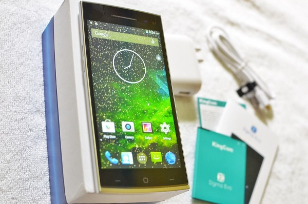 KingCom S!gma Evo Smartphone Unboxing