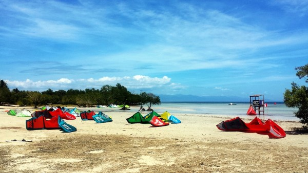 Kitesurfing Competition in Puerto Princesa
