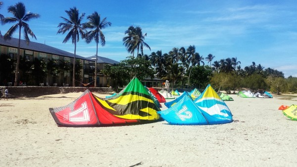 Kitesurfing in the Worlds Best Island