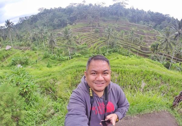 Melo in Tegallalang Rice Terraces