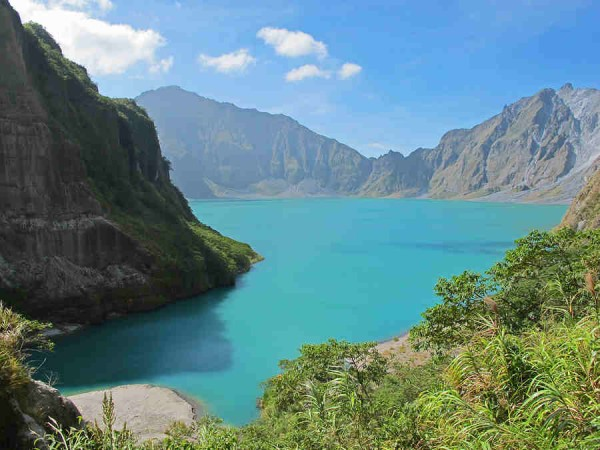 Kid-Friendly Mountains - Mount Pinatubo Crater