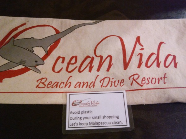No Plastic at Ocean Vida Beach and Dive Resort
