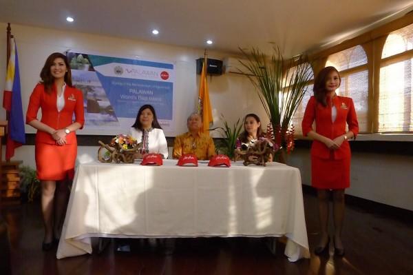 Palawan and AirAsia signing of Memoradum of Understanding