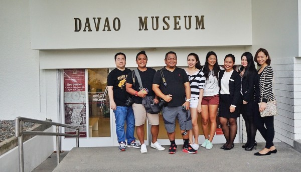 Travel Writers and Bloggers at Davao Museum