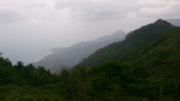 View from Mt. Daguldol's peak