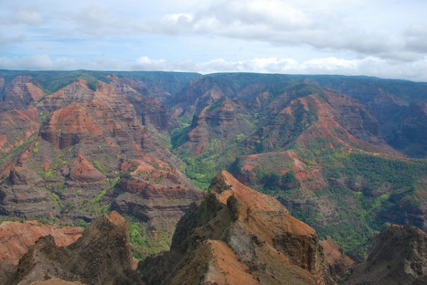 Waimea Canyon, Hawaii by Chris.Murphy via Flickr
