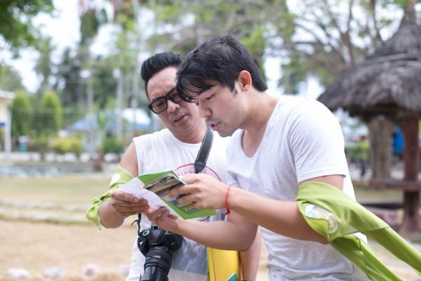 Coach Champ Lui Pio with Juan Manila