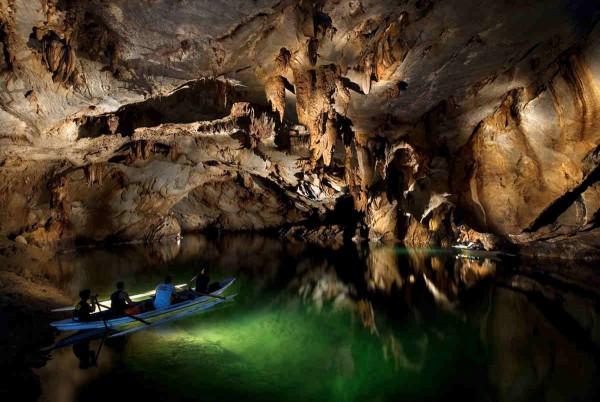 Inside the Underground River of Puerto Princesa photo by Gov.ph