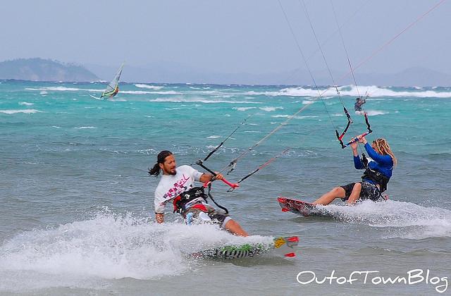 Kite Boarding in Boracay