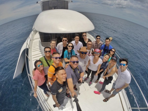 Media Participants, Celebrity Adventure Coaches and team from Cebu Pacific
