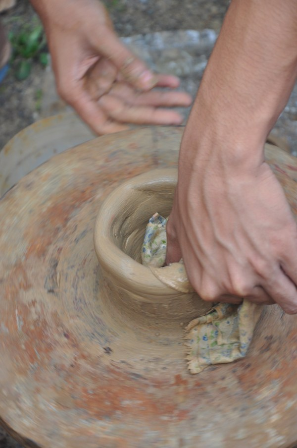 Pottery Making in Antique
