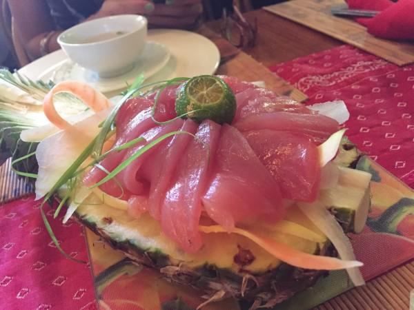 Tuna Sashimi at KaLui Restaurant