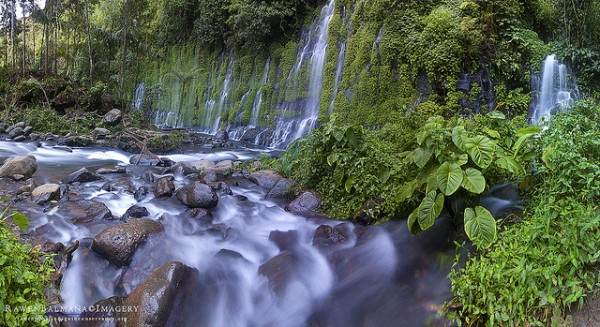 Waterfalls in Alamada Cotabato by Rawen Balmana via Flickr