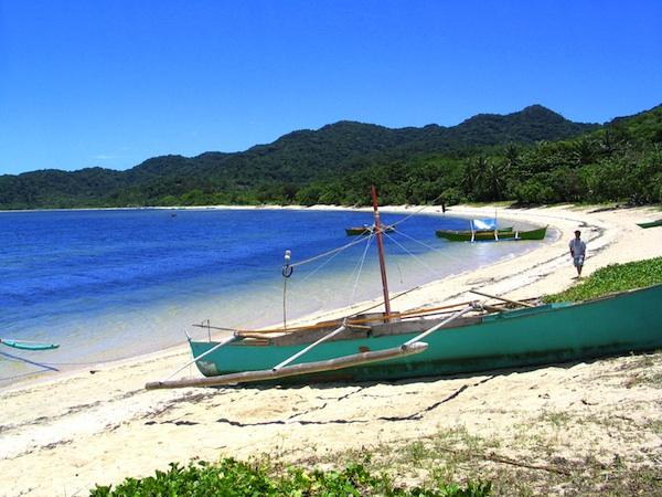 White Sand Beach in Palaui Island