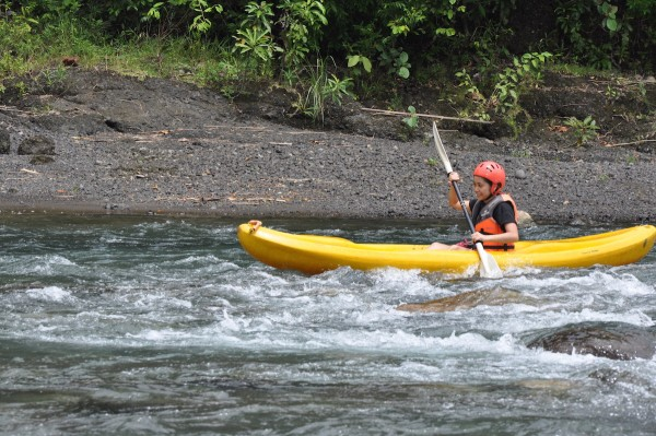 White Water River Kayaking in Tibiao