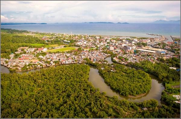 Aerial view of Calbayog