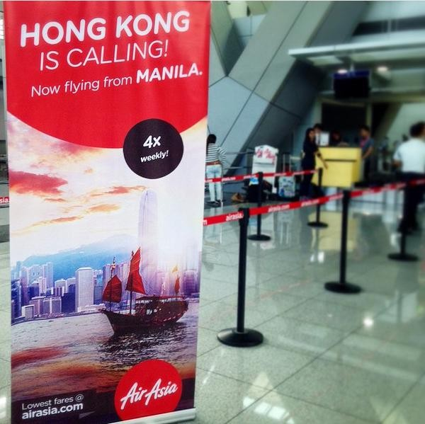 AirAsia Manila - Hong Kong Flights
