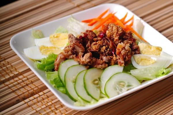 Chicken Katsu salad