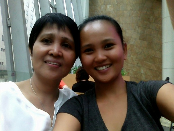 Monette and her Mom