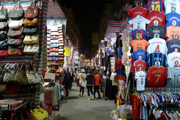 MongKok Ladies Market by Bricoleurbanism via Flickr