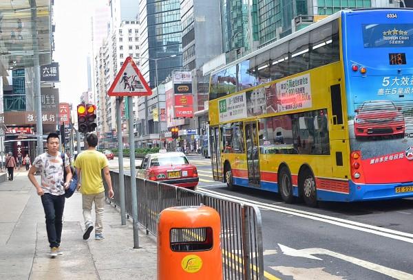 Mong Kok in Yau Tsim Mong District