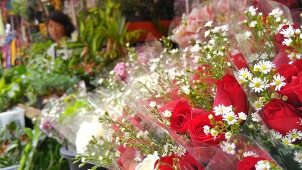 Quiapo Flower Market