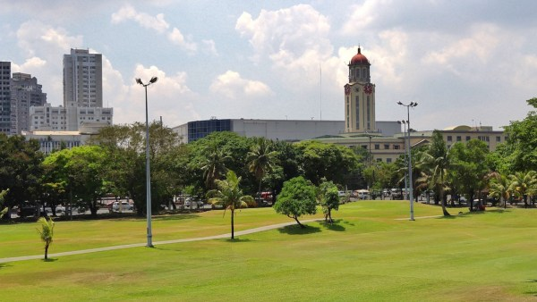 View of Manila City Hall from Intermoros Walls