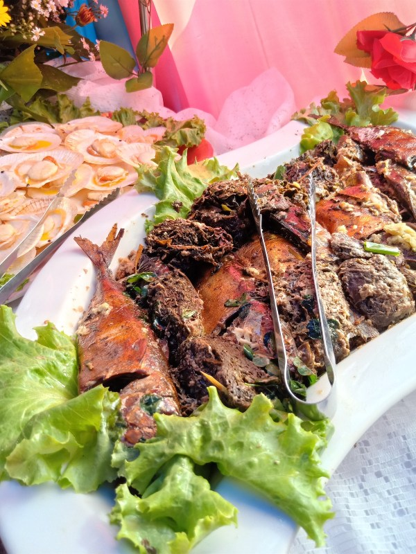 tinapa or smoked fish